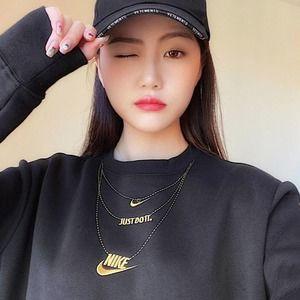 🖤 GLAM DUNK GOLD CHAIN SWEATSHIRT Nike